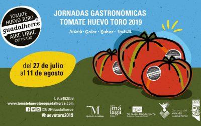 Jornadas gastronómicas Tomate Huevo Toro 2019