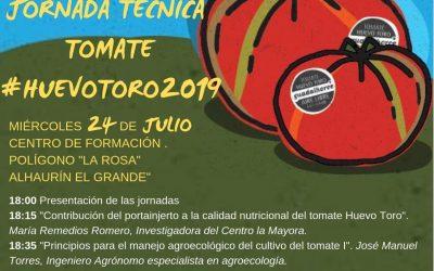 JORNADA TÉCNICA TOMATE HUEVO TORO 2019