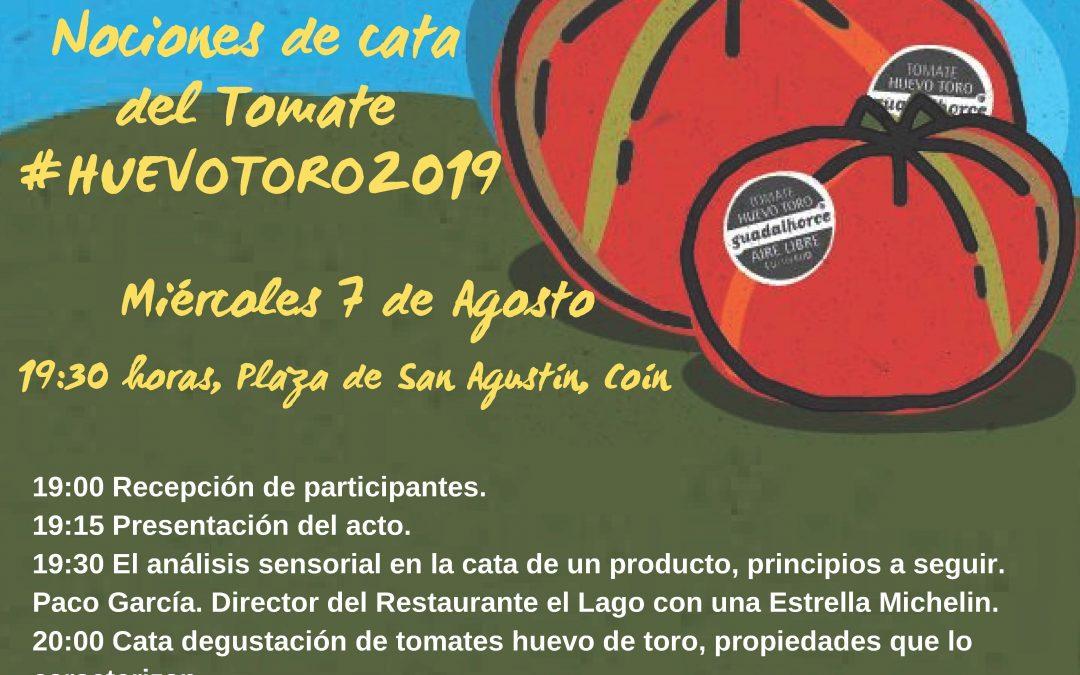 «Nociones de Cata del tomate Huevo Toro 2019»