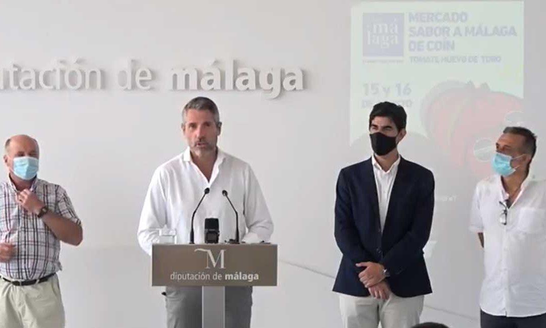 Presentación del mercado Sabor a Málaga Tomate Huevo Toro