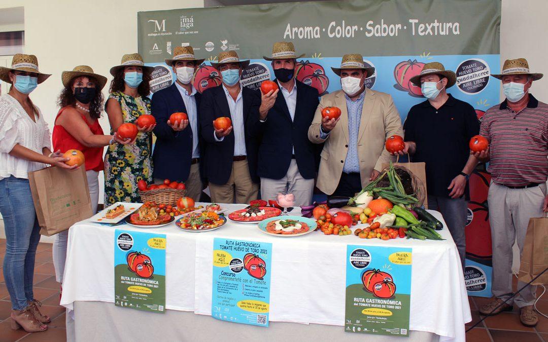 Presentación Ruta gastronómica Tomate Huevo Toro 2021