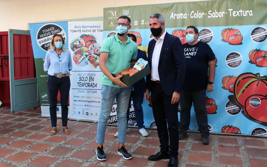 """Guadalhorce Turismo entrega los premios del concurso """"Comprométete con el Tomate"""""""